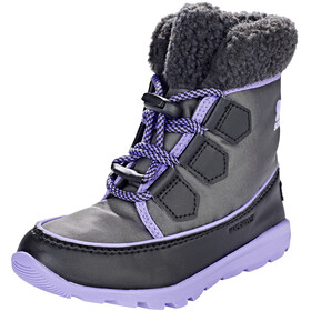 Sorel Kids Whitney Carnival Boots Dark Grey/Paisley Purple